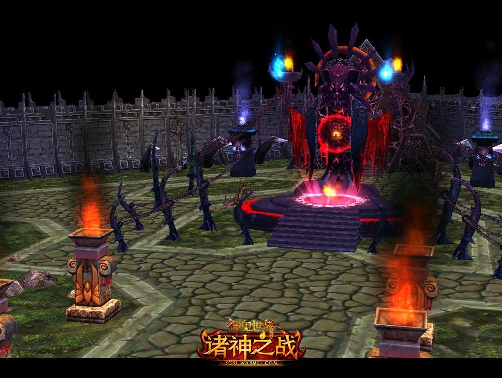 1)客户端 请想要进入游戏的玩家第一时间下载《神鬼世界》